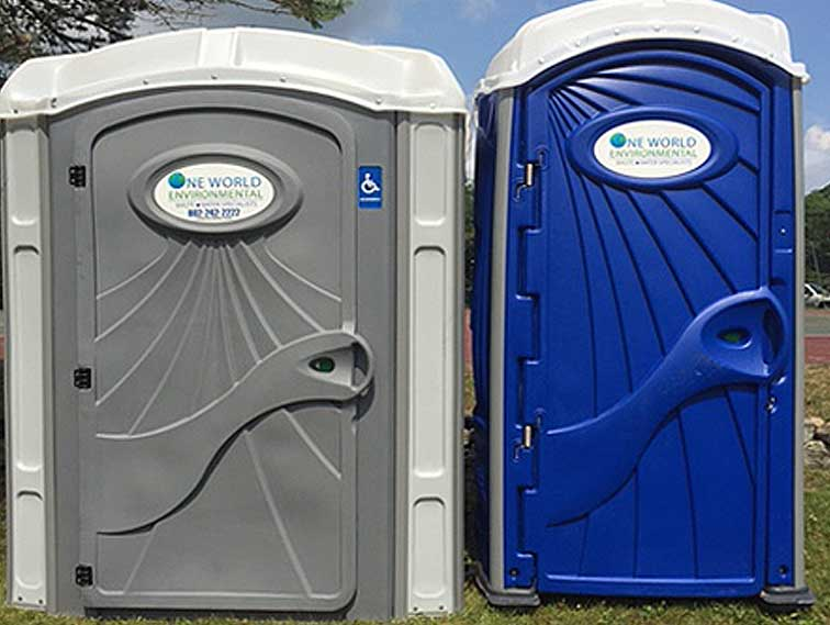 construction ADA Wheelchair Accessible Porta Potty - 802 Restrooms