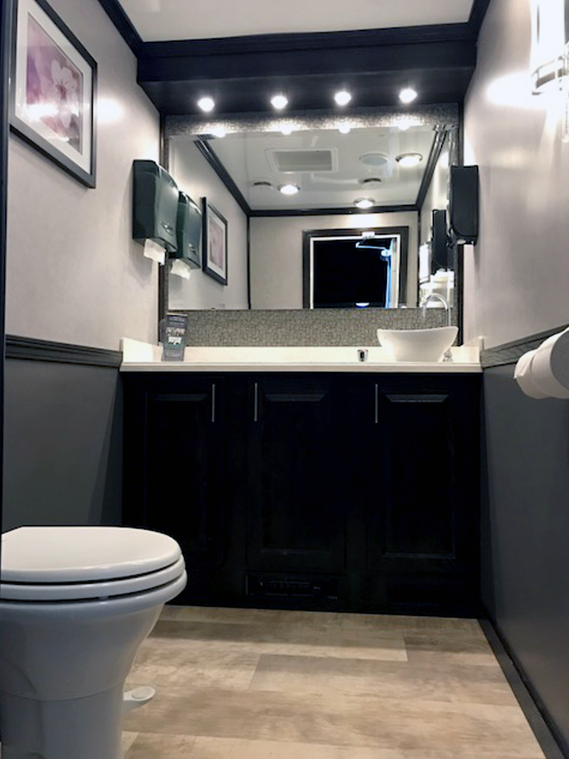 3-Station Luxury Restroom Trailer
