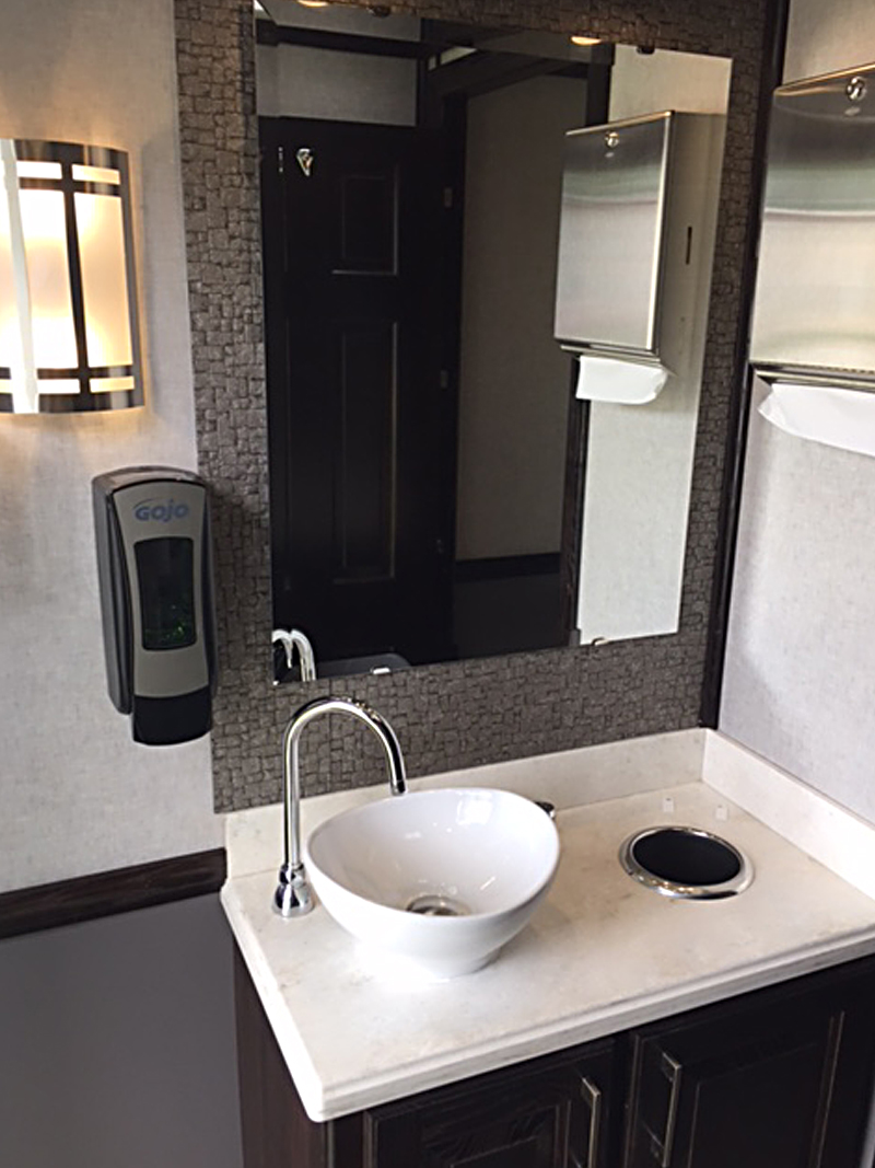 4-Station Luxury Restroom Trailer