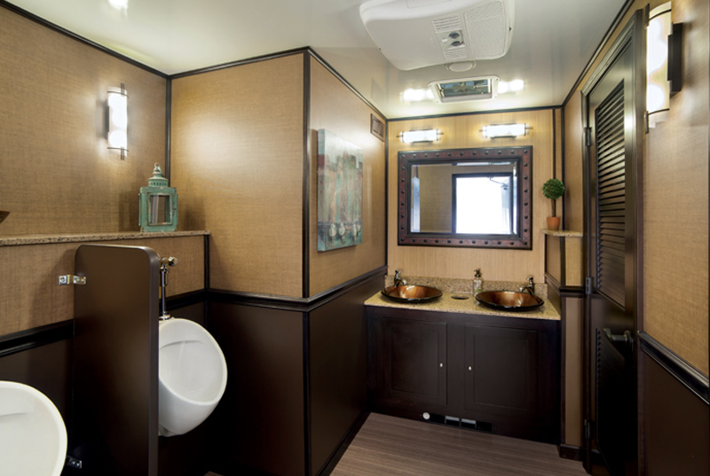 8-Station Luxury Restroom Trailer